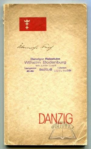 WERNER - Rades Ernst Friedrich, Wer kennt Danzig? How to see Danzig.