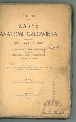 HENLE J., Zarys anatomii człowieka.
