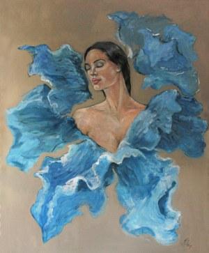 Honorata Chajec (ur. 1983), Ulotny błękit, z cyklu: