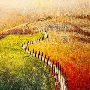 Natasza Mirak (ur. 1976), Viale dei cipressi, 2021