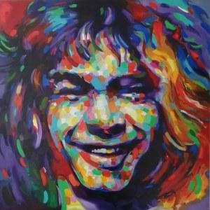 Monika Łakomska (ur. 1968), Eddie Van Halen Harmony, 2021