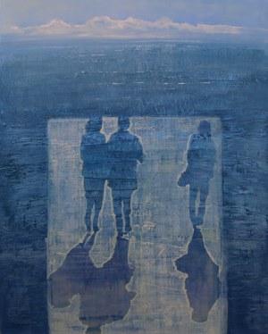 Małgorzata Pastuszek (ur. 1962), Spacer z bryzą, 2020