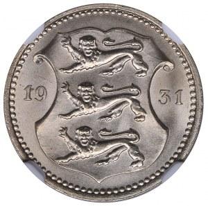 Estonia 10 senti 1931 NGC MS 66