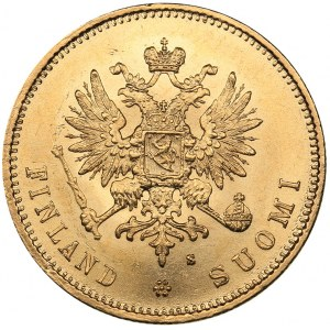 Russia - Grand Duchy of Finland 20 markkaa 1880 S