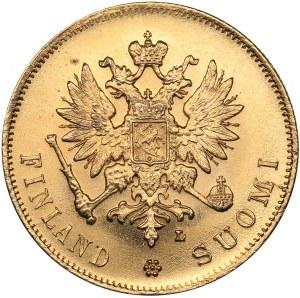 Russia - Grand Duchy of Finland 10 markkaa 1905 L