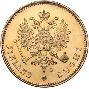 Russia - Grand Duchy of Finland 20 markkaa 1911 L