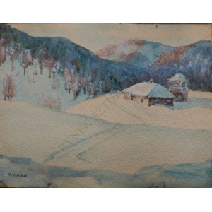 Mieczysław Siemiński (1891-1965), Zima w górach
