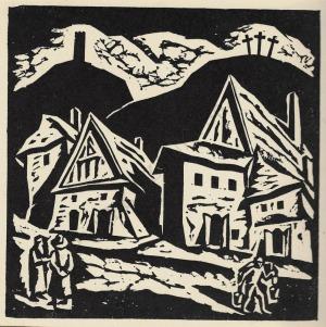 Kazimierz Wiszniewski (1894-1960), Widoki Kazimierza Dolnego