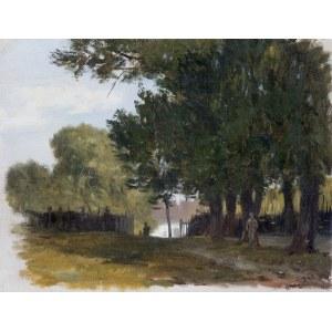 Brandt Józef, PEJZAŻ, OK. 1870-1875