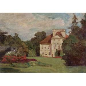 Chełmoński Józef, PAŁAC W STERDYNI, 1898
