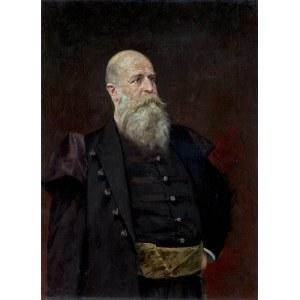 Styka Jan, PORTRET HRABIEGO POTOCKIEGO, 1881