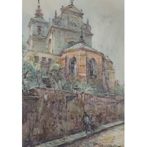 Chmieliński (Stachowicz) Władysław, WIDOK NA KOŚCIÓŁ ŚW. ANNY, PRZED 1939