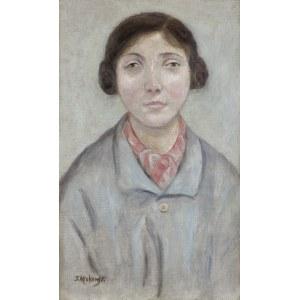 Makowski Tadeusz, PORTRET MŁODEJ DZIEWCZYNY, OK. 1920