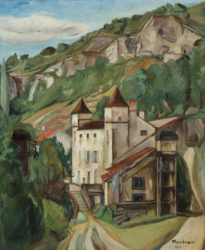 Mondzain Szymon (Simon), PEJZAŻ, 1926
