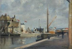 Hayden Henryk, WIDOK PORTU W HONFLEUR, 1933