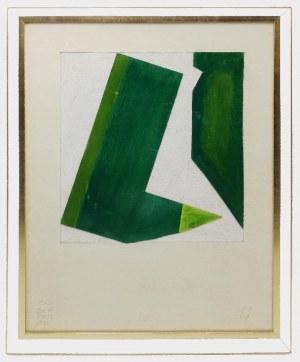 Jan BERDYSZAK (1934-2014), Kompozycja zielona, 1999