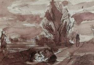 Tadeusz KANTOR (1915-1990), Scena rodzajowa