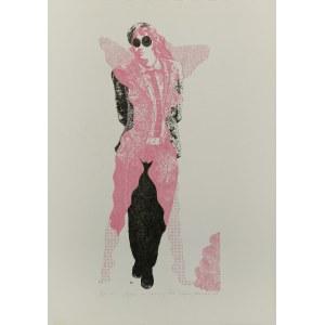 Lucjan MIANOWSKI (1933-2009), Spacer na różowej łące, 1968