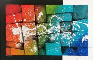 Ewelina GRABOWSKA (ur. 1992), Rainbow - Splash, 2020