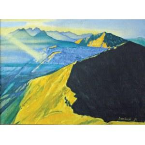 Wiesław SZAMBORSKI (ur. 1941), Cud nad górami, 1991