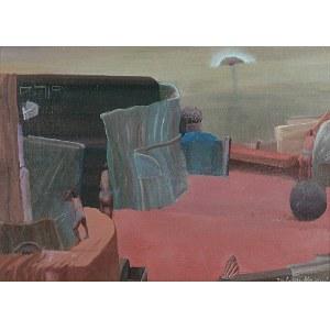 Juliusz NARZYŃSKI (UR. 1934), Pokój z widokiem zamienię II, 2015