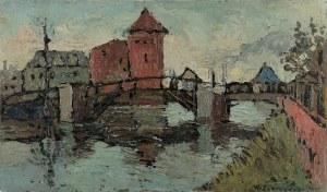Włodzimierz ZAKRZEWSKI (1916-1992), Nad Motławą, 1978