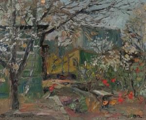 Włodzimierz ZAKRZEWSKI (1916-1992), Ogród, 1973