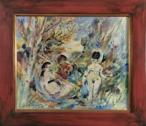 KLIMEK LUDWIK  (1912 - 1992), Śniadanie na trawie, 1972