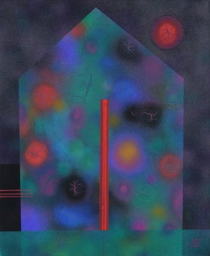 Serge VASILENDIUC (ur. 1972), Trzystrunowy kwiatowy dom, 2019