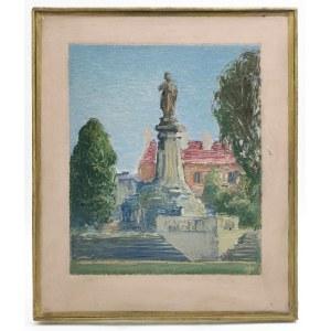 Juliusz MIESZKOWSKI (1906-1992), Pomnik Adama Mickiewicza w Warszawie