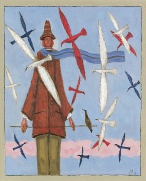 Mikołaj MALESZA (ur. 1954), Ptaki moje, 2011