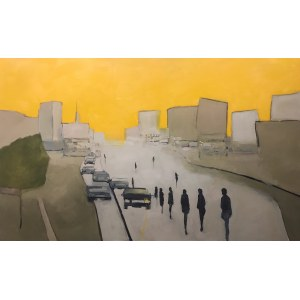 Romuald Musiolik, Parkowanie na chodniku, 2021
