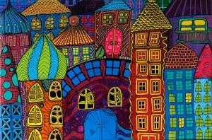 Luiza Poreda, Z serii Kolorowe Miasta, 2020