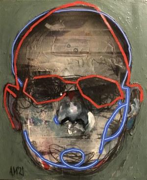 Aleksandra Modzelewska, Maska czy twarz S428, 2021