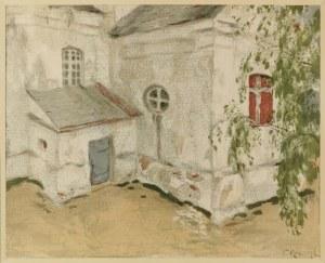 Ferdynand RUSZCZYC (1870-1936), Kościółek na Litwie, 1903
