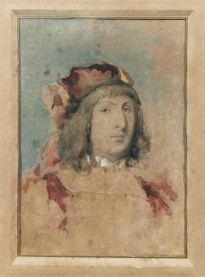 Jan MATEJKO (1838-1893), Studium głowy dworzanina