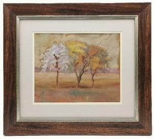 Emil KRCHA (1894-1972), Kwitnące drzewa