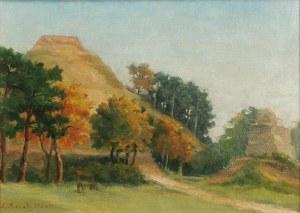 Ludomir BENEDYKTOWICZ (1844-1926), Pejzaż z Kopcem Kościuszki