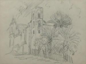 Stefan MROŻEWSKI (1894-1975), Katedra w Palermo, 1938