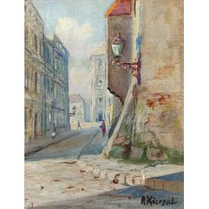 Antoni KIERPAL (1898-1960), Motyw z warszawskiej Starówki