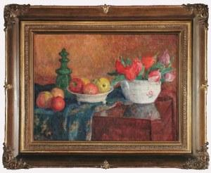 Zofia ALBINOWSKA-MINKIEWICZOWA (1886-1971), Martwa natura z jabłkami