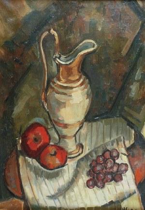 Henryk EPSTEIN (1890-1944), Martwa natura z dzbanem i owocami