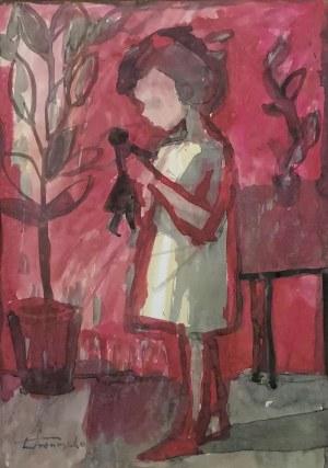Zbigniew PRONASZKO (1885-1958), Dziewczynka z lalką