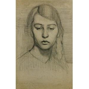 Henryk BERLEWI (1894-1967), Portret Ewy Schwarz, 1916