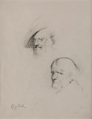 Eugeniusz ZAK (1884-1926), Szkice głów