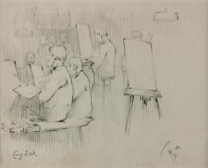 Eugeniusz ZAK (1884-1926), Warsztaty malarskie