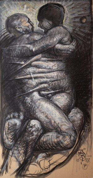 Franciszek Starowieyski (1930 Bratkówka k. Krosna - 2009 Warszawa), Bez tytułu, 1988