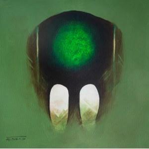Witold Kaczanowski / Witold - K (ur. 1932, Warszawa), z cyklu Samotność, 2020