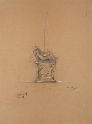 Igor Mitoraj 1944 Oederan – 2014 Paryż, Projekt rzeźby, 1979