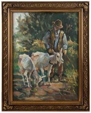 Jerzy Potrzebowski (1921-1974), Góral z kozami